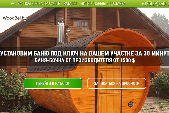 Копирование лендингов, страниц сайта, отдельных блоков 10 - kwork.ru