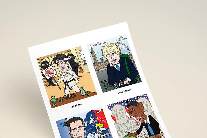 Нарисую для Вас иллюстрации в жанре карикатуры 129 - kwork.ru