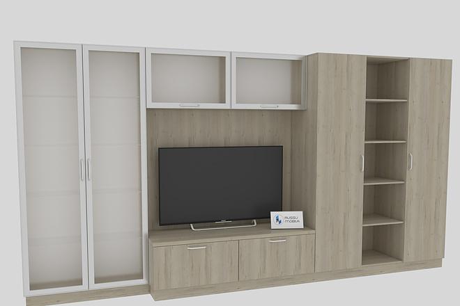 Визуализация мебели, предметная, в интерьере 12 - kwork.ru