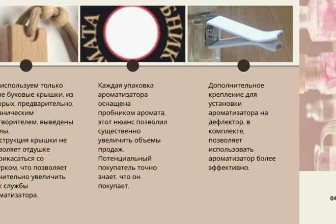 Стильный дизайн презентации 147 - kwork.ru