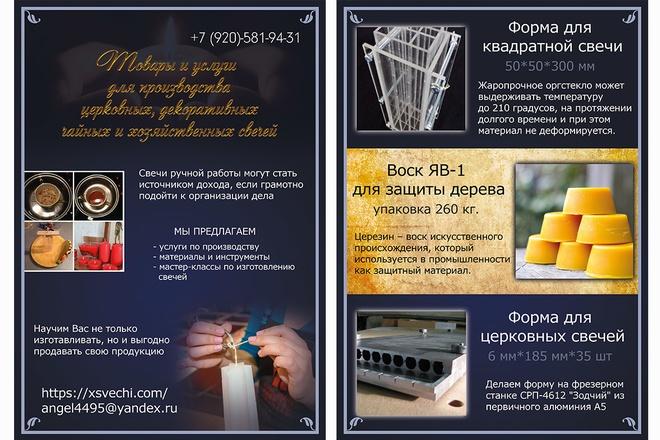 Макеты для печати 7 - kwork.ru
