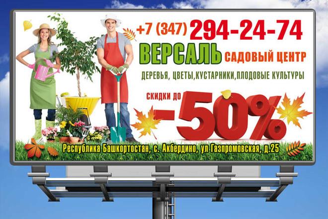 Разработаю дизайн рекламного постера, афиши, плаката 48 - kwork.ru
