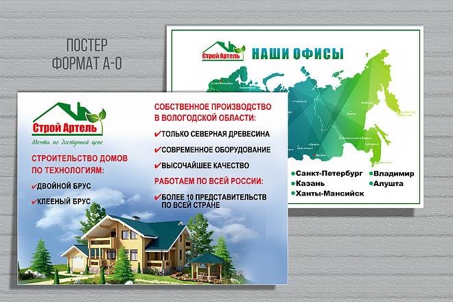 Разработаю дизайн рекламного постера, афиши, плаката 41 - kwork.ru