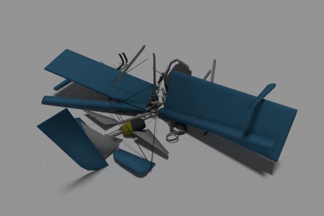 Blender l 3Д моделирование 24 - kwork.ru