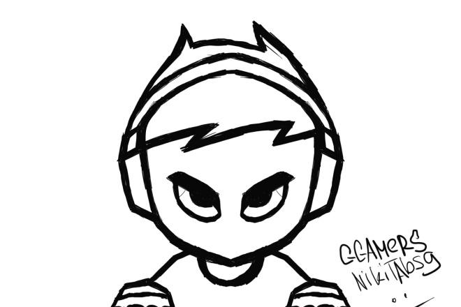 Создам логотип в Mascot стиле 1 - kwork.ru
