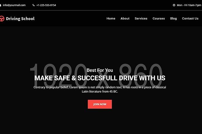 95 Премиум шаблонов сайтов на html, css, javascript 6 - kwork.ru