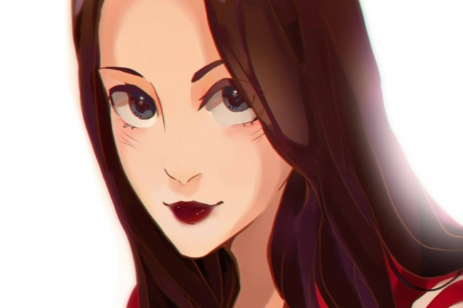 Создам ваш портрет в стиле аниме 43 - kwork.ru