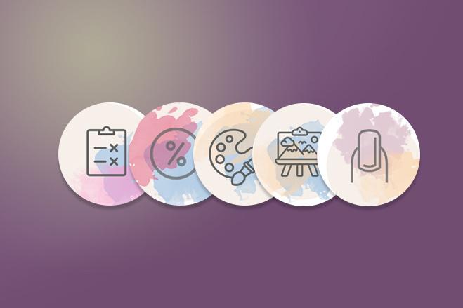 Обложки иконки для актуальных сторис Инстаграм 10 - kwork.ru