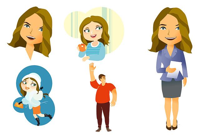 Нарисую иллюстрацию с одним персонажем 8 - kwork.ru