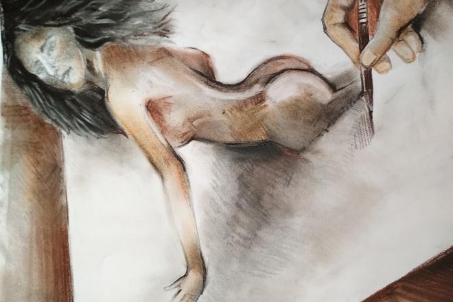 Нарисую рисунок или эскиз в ручной технике красиво и быстро 2 - kwork.ru