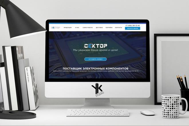 Лендинг под ключ, крутой и стильный дизайн 23 - kwork.ru
