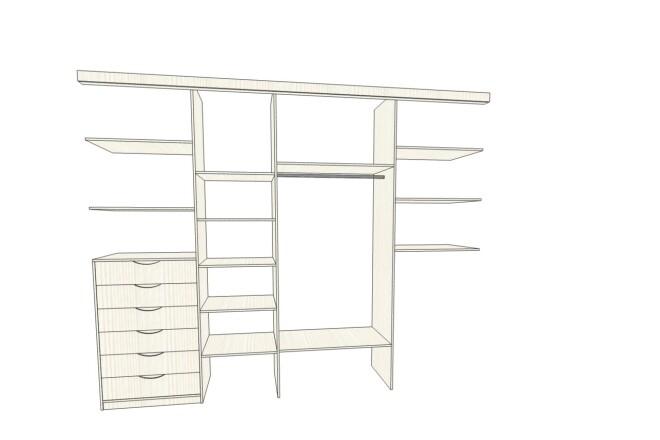 Проектирование корпусной мебели 10 - kwork.ru
