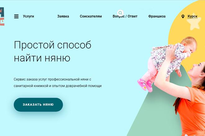 Качественная копия лендинга с установкой панели редактора 22 - kwork.ru