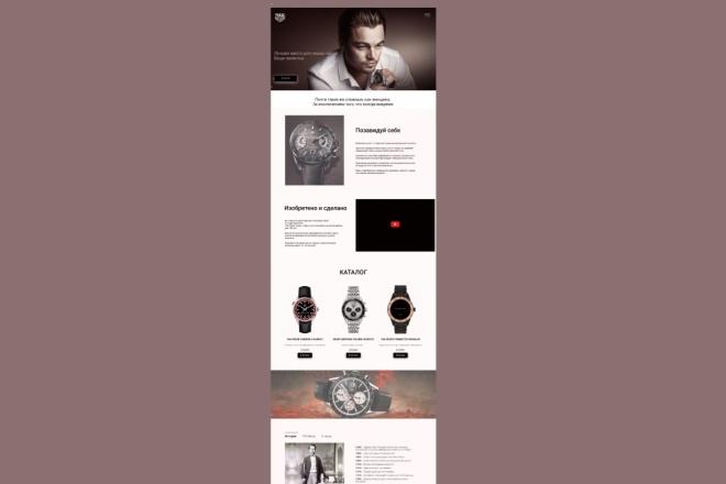 Сайты и лендинги на Tilda 1 - kwork.ru