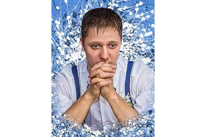 Дрим Арт портрет 46 - kwork.ru