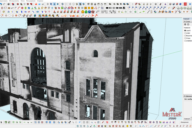 Моделирование и визуализация зданий 34 - kwork.ru