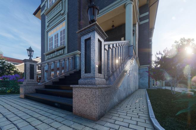 Моделирование и визуализация зданий 52 - kwork.ru