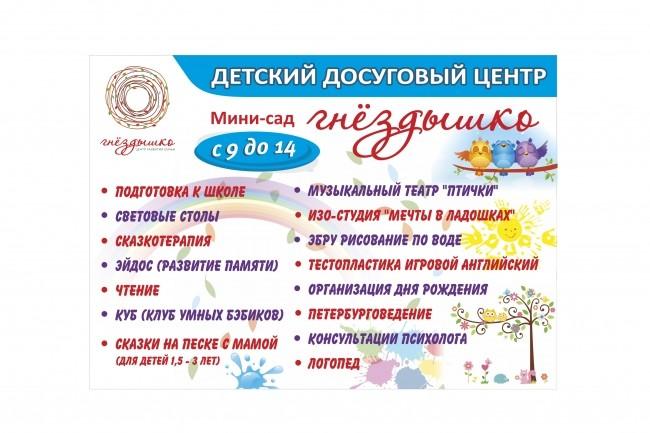 Широкоформатный баннер, качественно и быстро 32 - kwork.ru