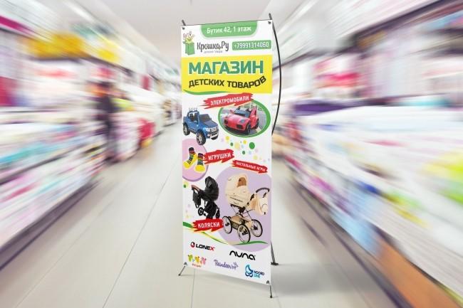 Широкоформатный баннер, качественно и быстро 31 - kwork.ru