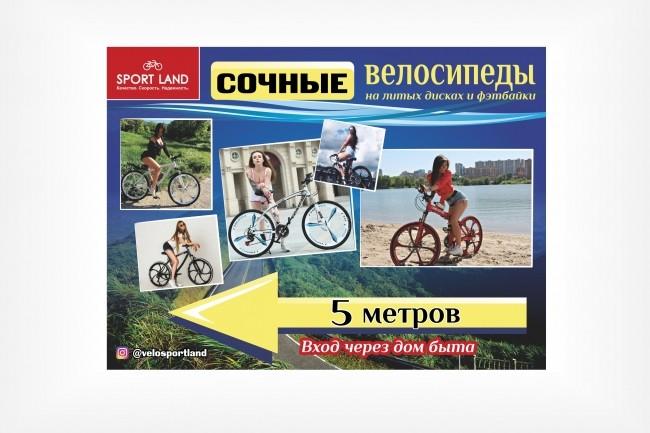 Широкоформатный баннер, качественно и быстро 28 - kwork.ru