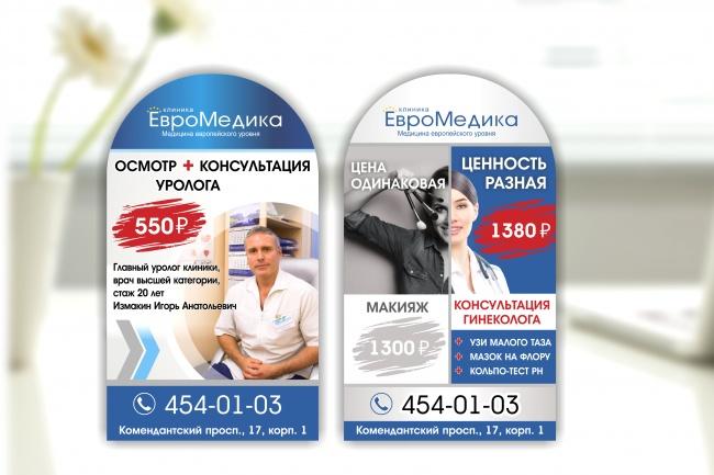 Широкоформатный баннер, качественно и быстро 72 - kwork.ru