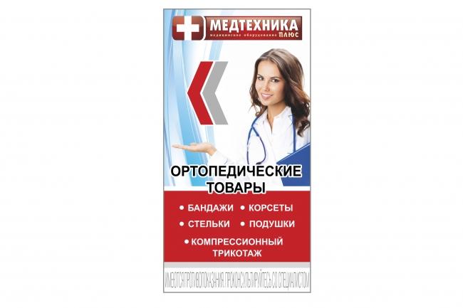 Широкоформатный баннер, качественно и быстро 65 - kwork.ru