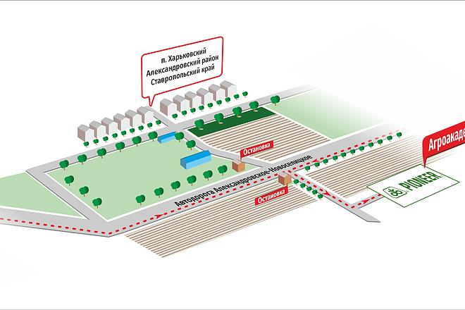 Карты и схемы проезда 6 - kwork.ru