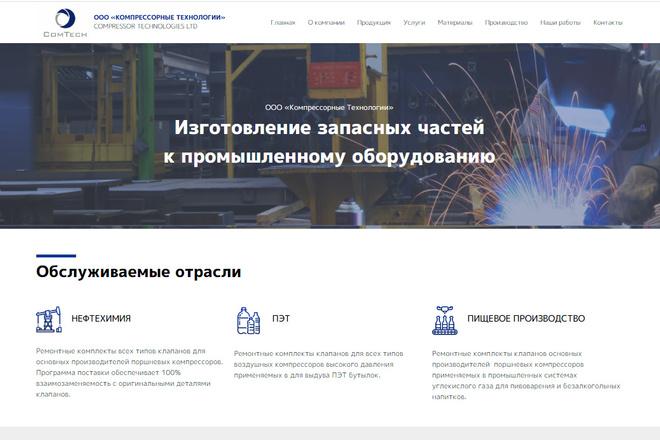 Профессионально и недорого сверстаю любой сайт из PSD макетов 26 - kwork.ru