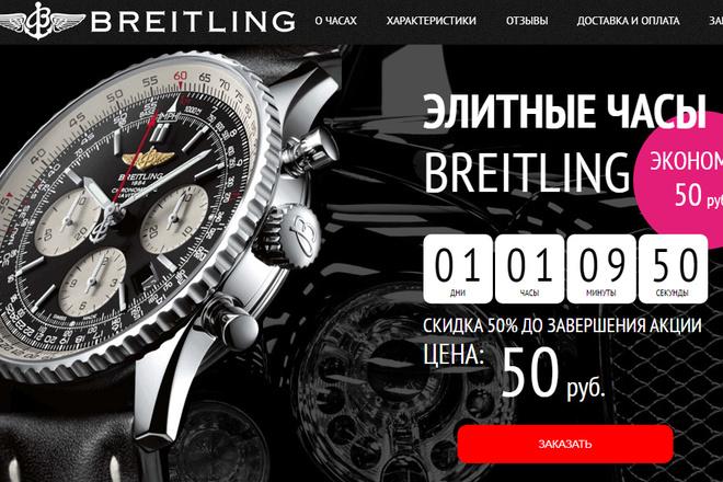 Качественная копия лендинга с установкой панели редактора 10 - kwork.ru