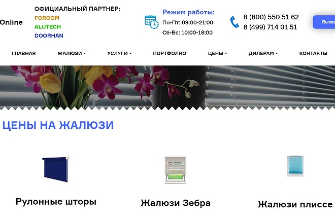 Создание сайта - Landing Page на Тильде 19 - kwork.ru