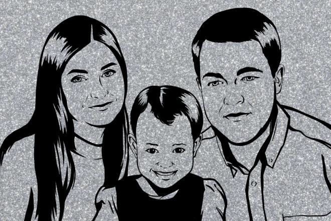 Нарисую портрет в стиле Pop Art,Comics Art, Stik Art 28 - kwork.ru