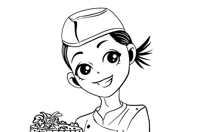 Нарисую CG персонажа 17 - kwork.ru