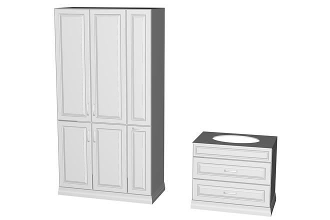Визуализация мебели, предметная, в интерьере 23 - kwork.ru
