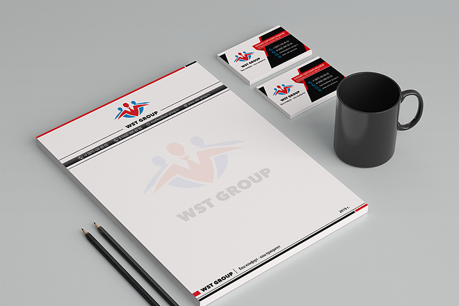 Создам фирменный стиль бланка 123 - kwork.ru