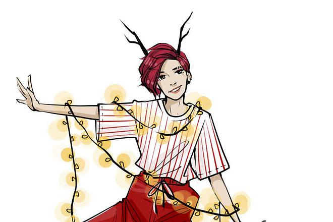 Fashion иллюстрация 2 - kwork.ru