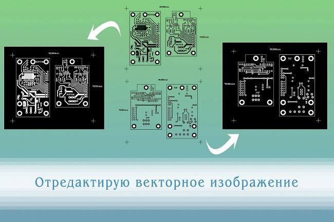 Перерисую растровое изображение в векторное 10 - kwork.ru