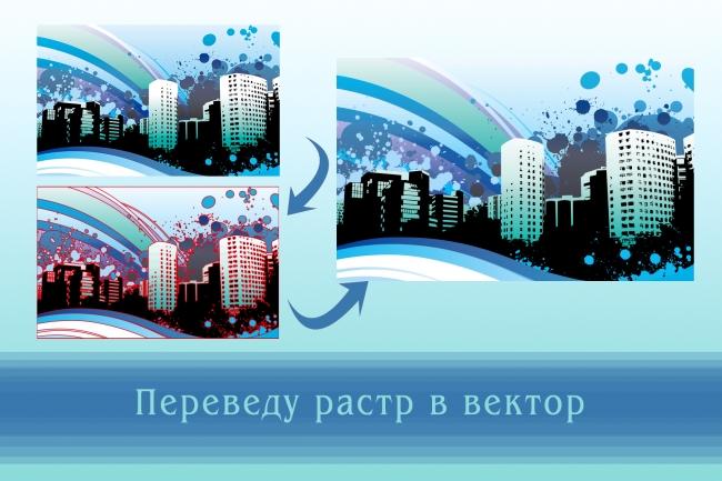 Перерисую растровое изображение в векторное 6 - kwork.ru