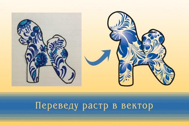 Перерисую растровое изображение в векторное 5 - kwork.ru