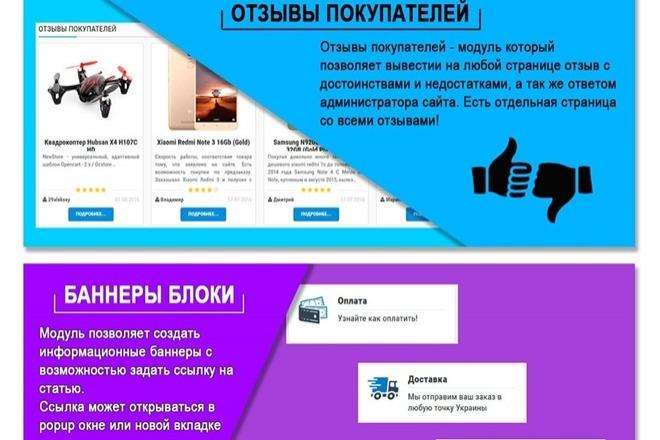 Создание интернет-магазина на CMS OpenCart, OcStore под ключ 7 - kwork.ru