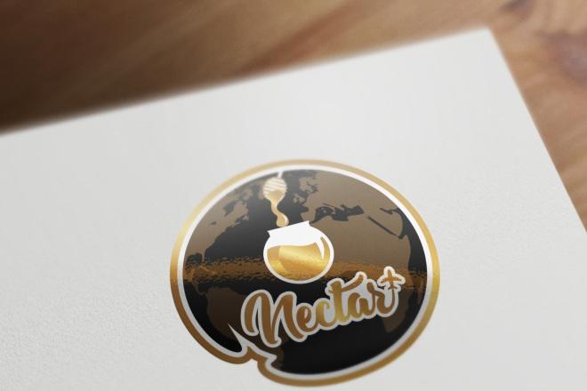 Сделаю логотип в круглой форме 14 - kwork.ru