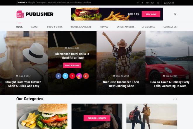 Новые премиум шаблоны Wordpress 7 - kwork.ru