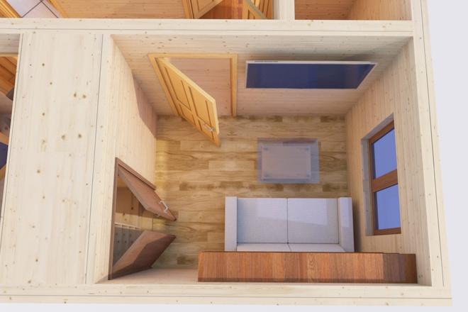 Оцифровка плана этажа, перечерчивание плана дома в Archicad 14 - kwork.ru
