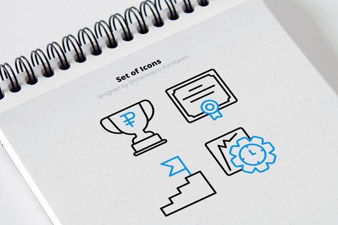 Разработка иконок 4 - kwork.ru