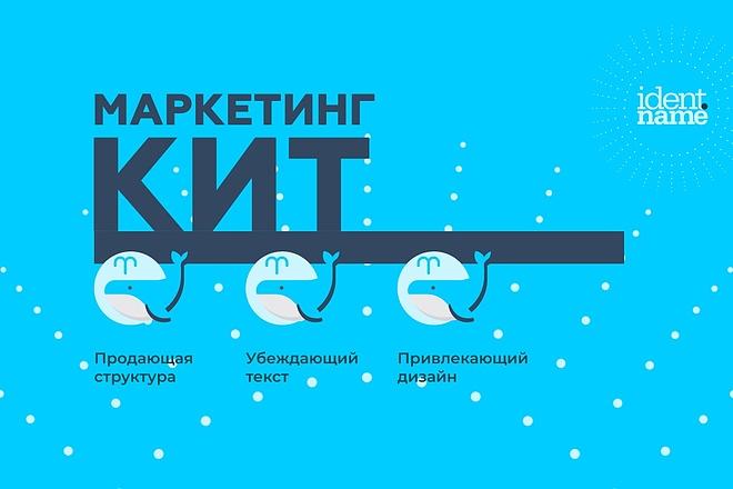 Разработаю маркетинг-кит компании - продающую презентацию 2 - kwork.ru