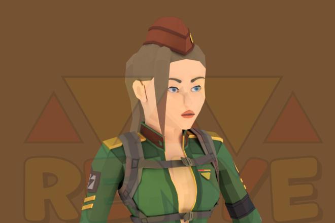 3D персонаж для игрового проекта 11 - kwork.ru