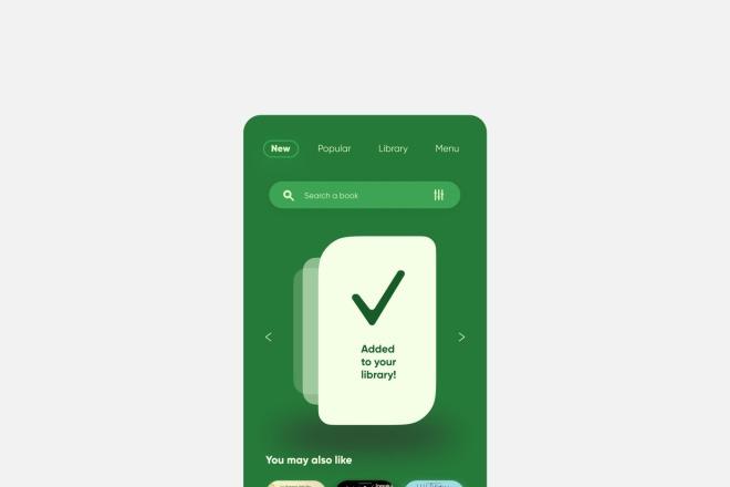 Разработка дизайна для вашего мобильного приложения 16 - kwork.ru