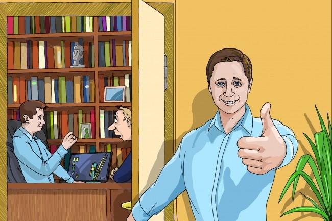 Одна иллюстрация к вашей рекламной или презентационной статье 28 - kwork.ru