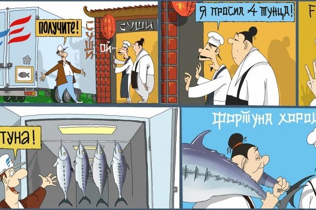 Одна иллюстрация к вашей рекламной или презентационной статье 31 - kwork.ru