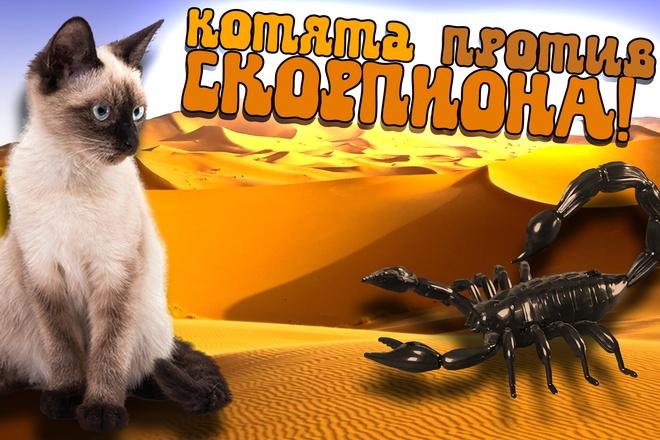 Превью картинка для YouTube 56 - kwork.ru