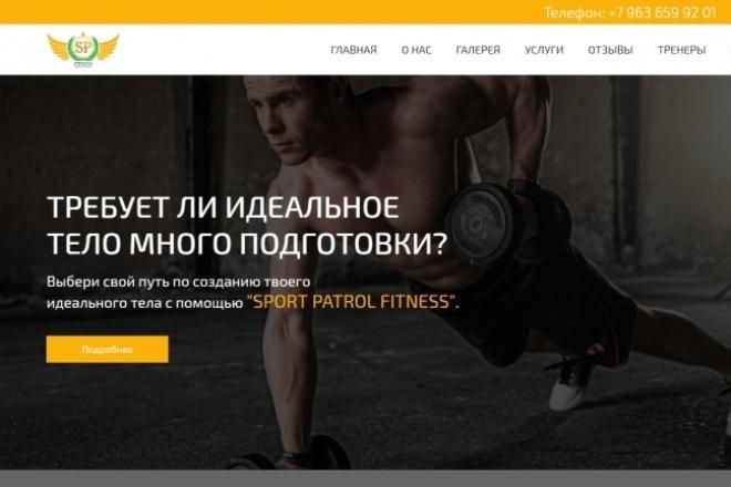 Сайт под ключ. Landing Page. Backend 297 - kwork.ru